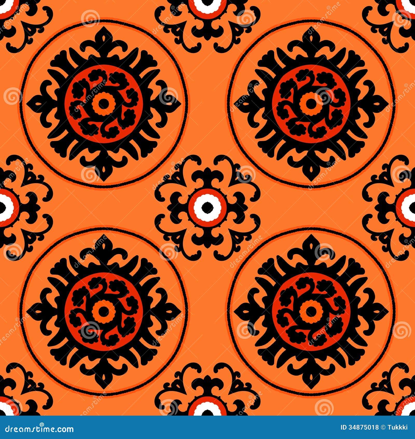 Suzani Pattern Royalty Free Stock Photos Image 34875018