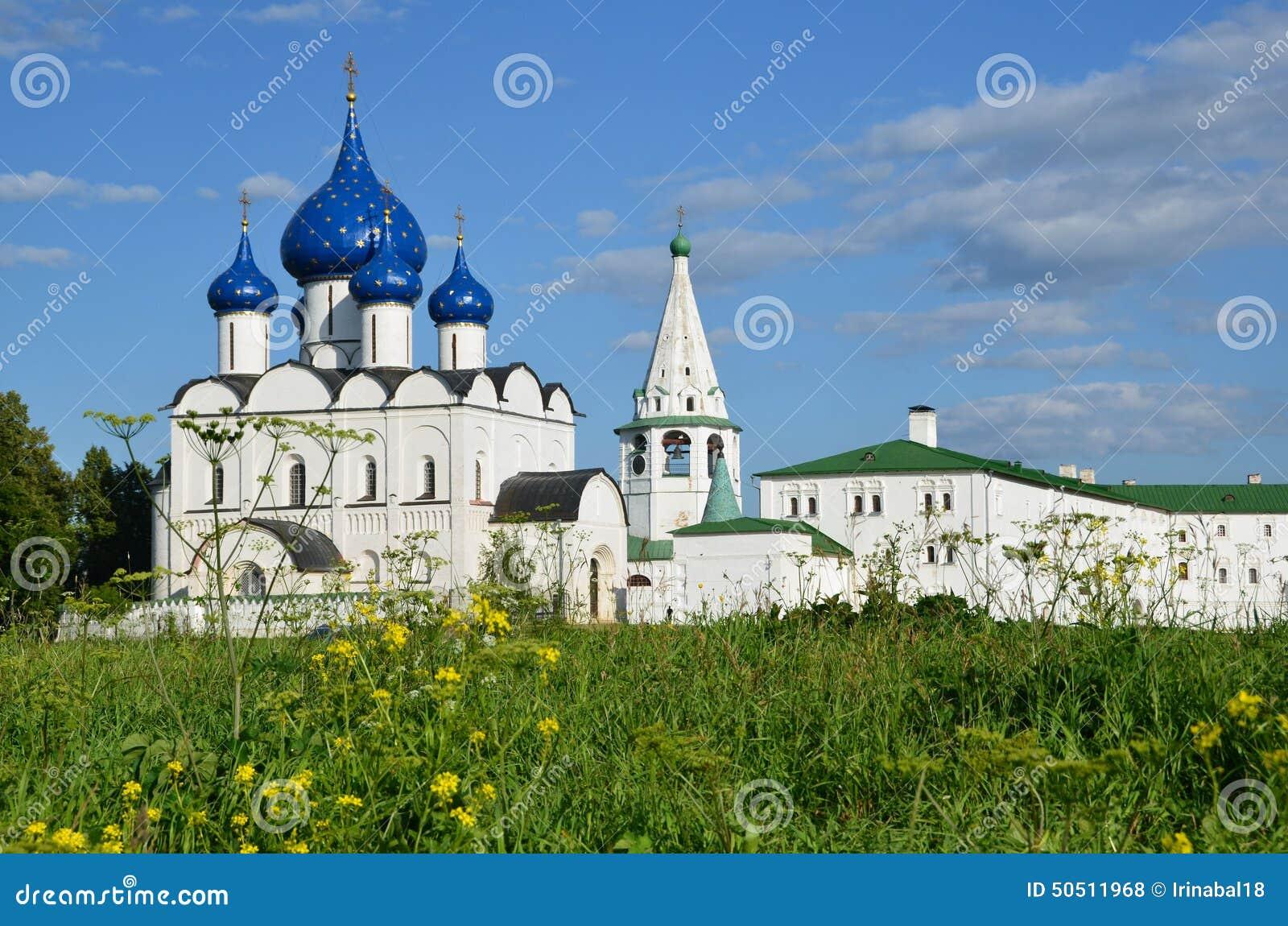Suzdal het Kremlin Gouden Ring van Rusland