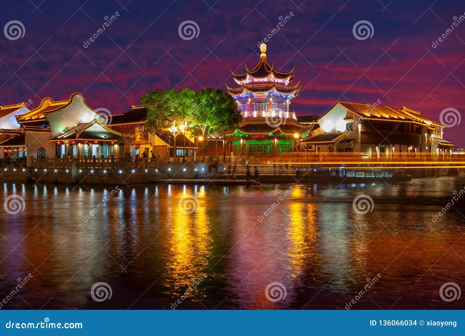 Suzhou night, China