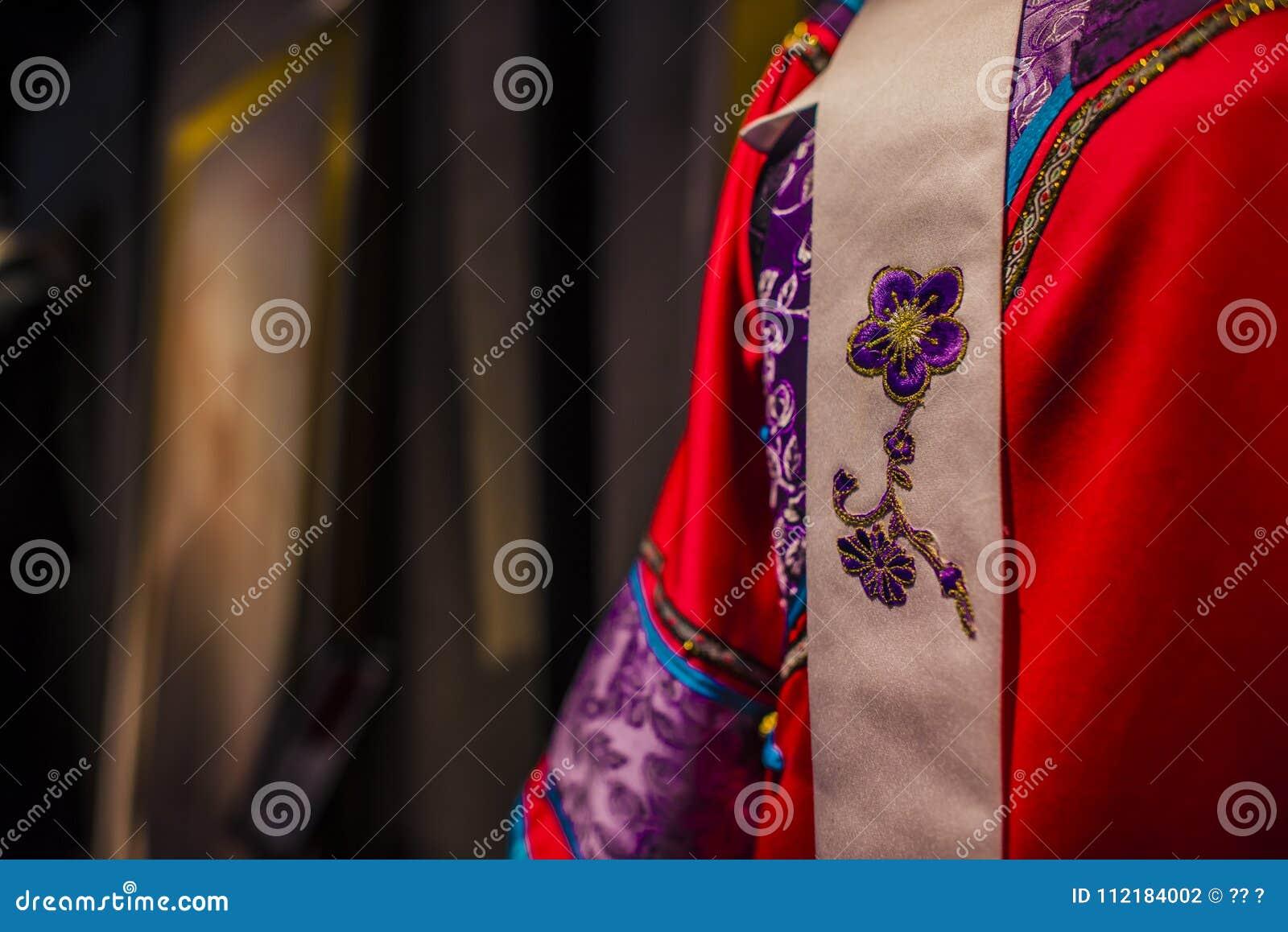 Suzhou tsu silk qipao.
