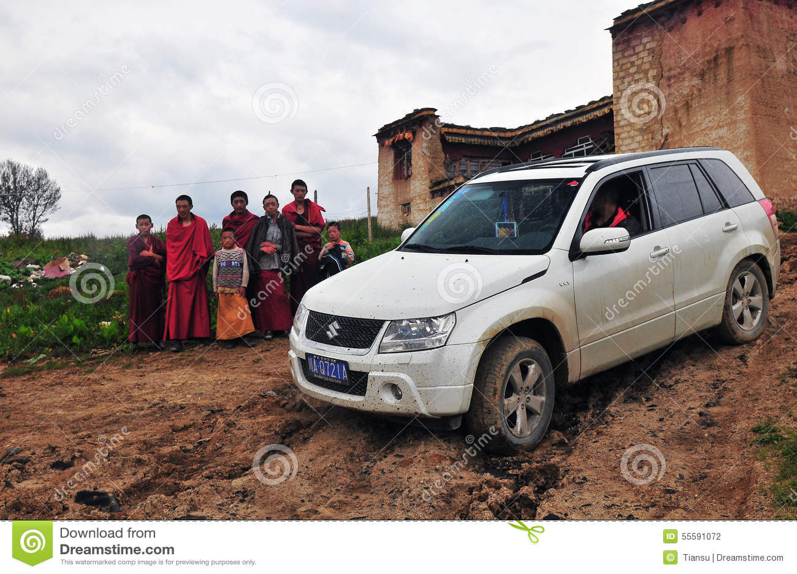 Suzuki Grand Vitara Mountain Journey Editorial Photography Image Of Land Garda 55591072