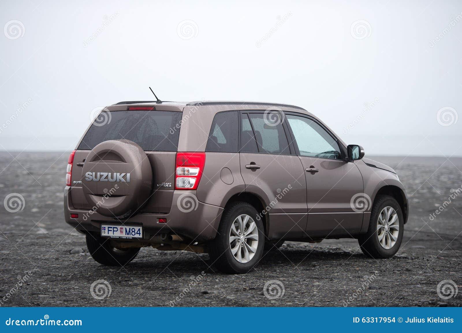Suzuki Grand Vitara Suv Car Editorial Stock Image Image