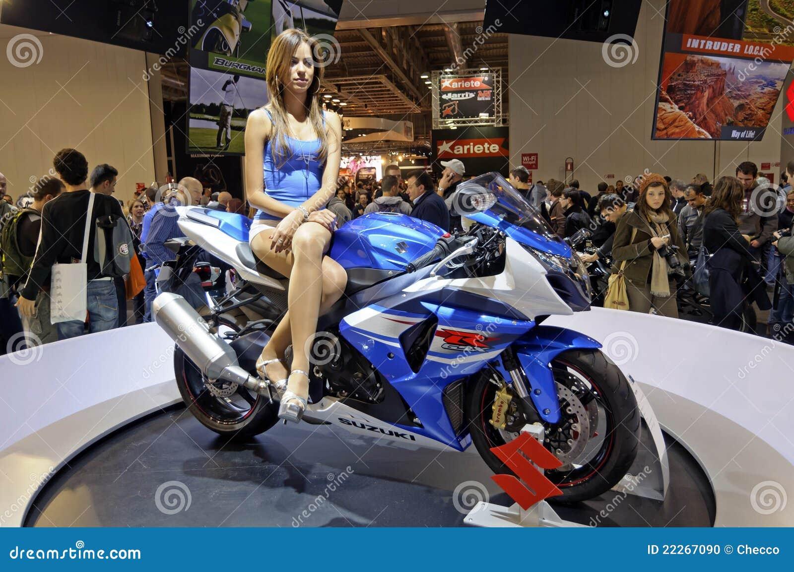 Exhibition Stand Design Download : Suzuki gsx r in eicma editorial image