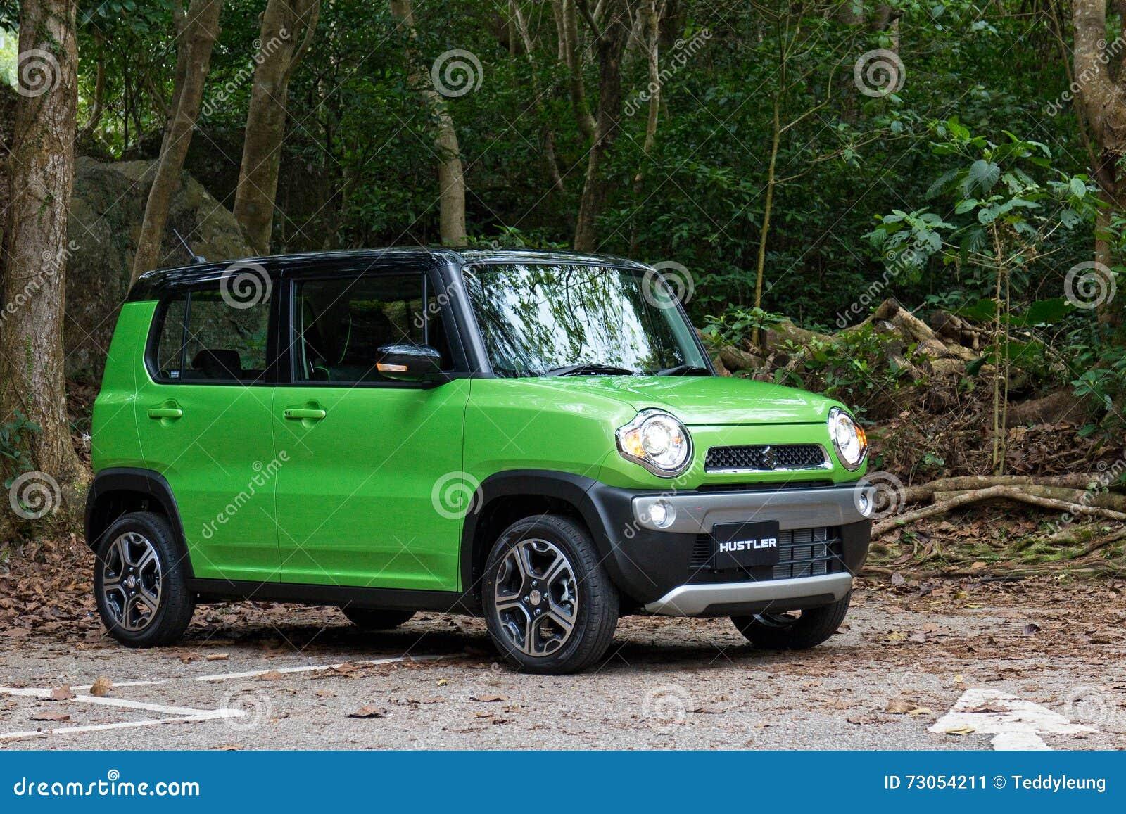 Green hustler car