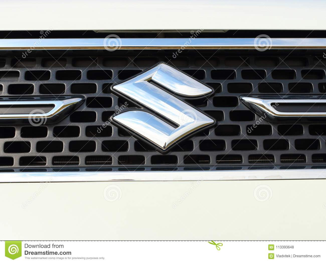 Suzuki Logo On Ignis Car Editorial Stock Photo Image Of Emissions
