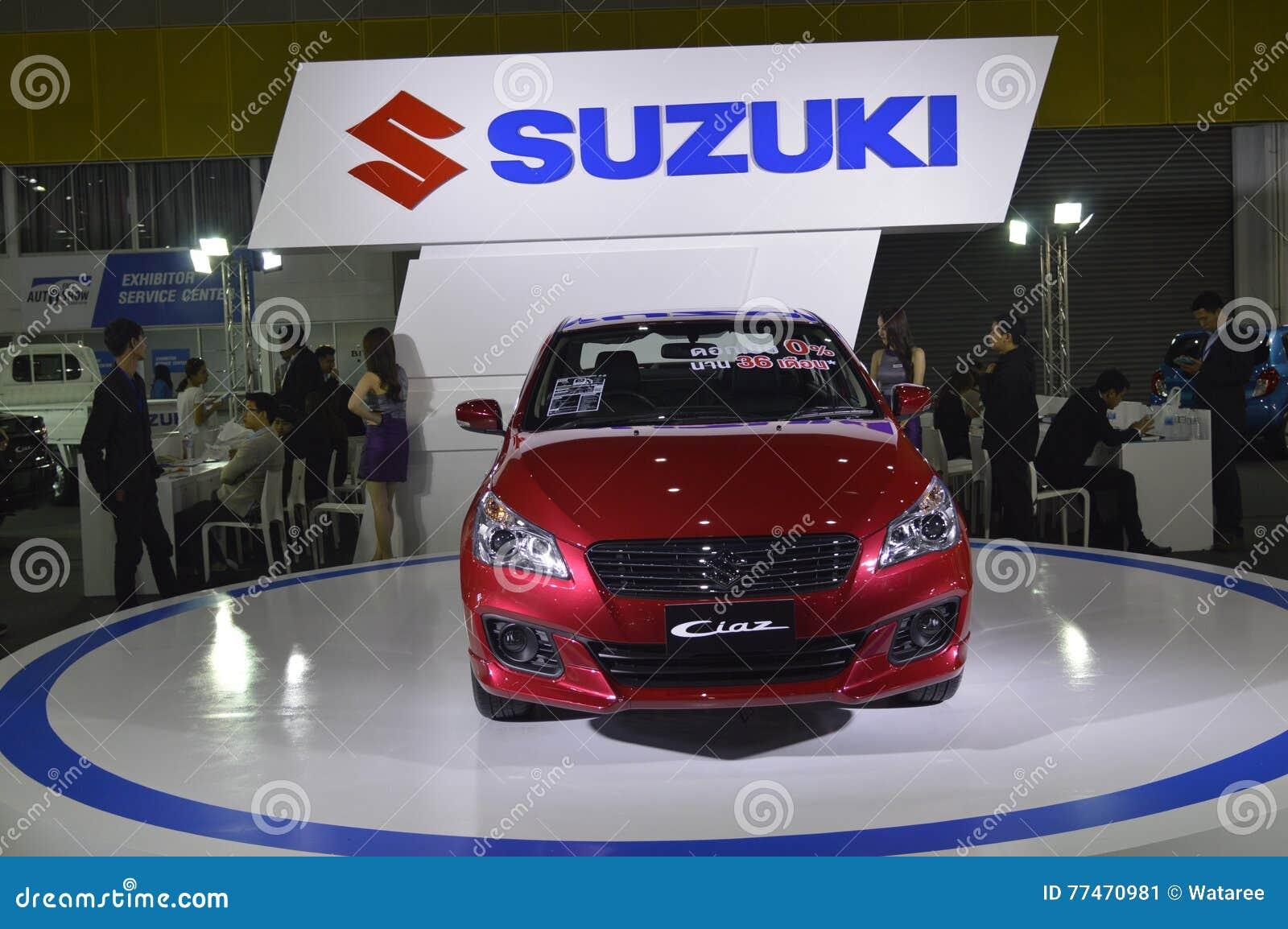 Suzuki Shop Of Fast Auto Show Thailand 2016 Editorial Photo Image