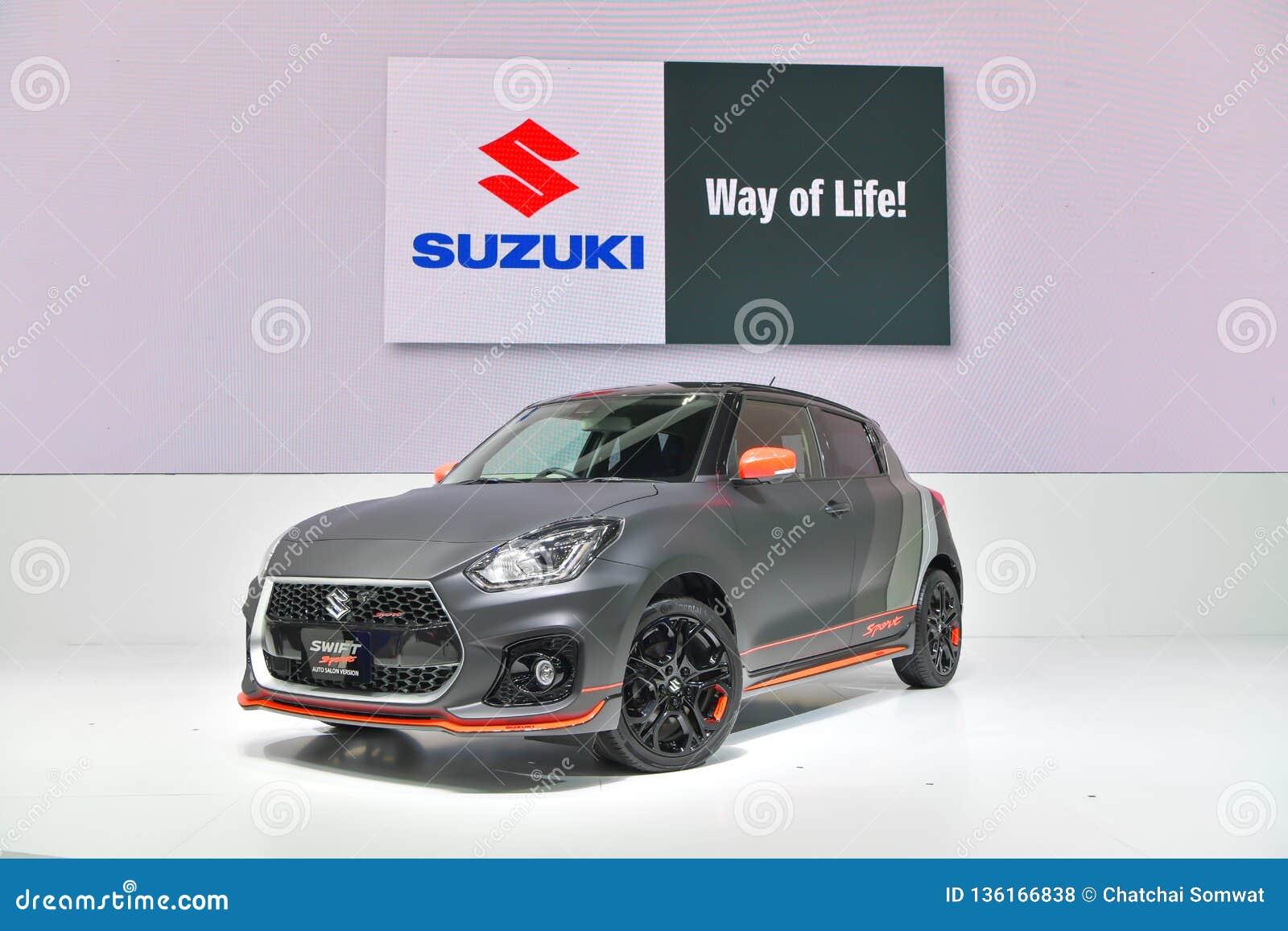 Suzuki Swift Sport Car On Display At The 35th Thailand
