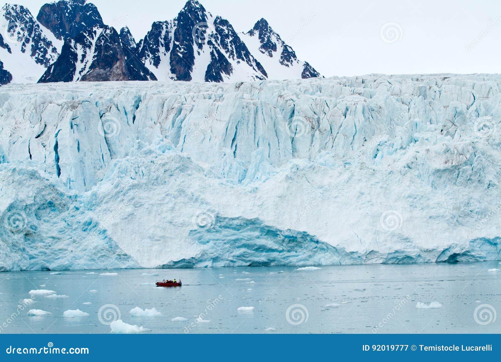 Svalbard glaciär