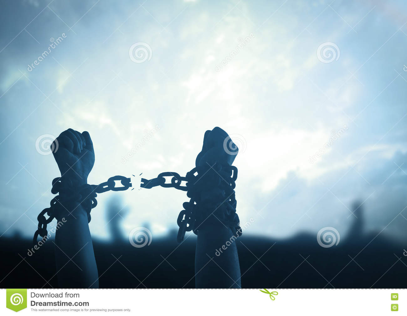 Svart isolerad begreppsfrihet