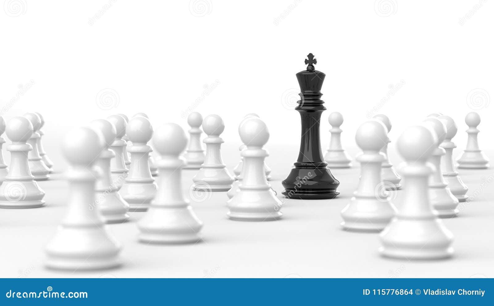 Svart konung av schack