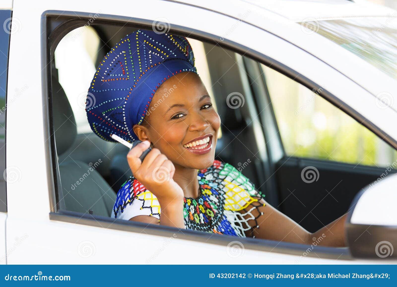 Download Svart kvinnabiltangent arkivfoto. Bild av ethnic, modernt - 43202142