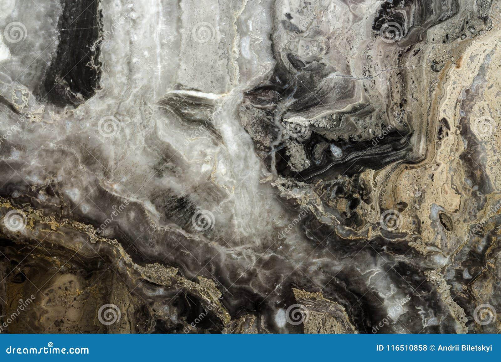 Svart modell för marmorabstrakt begreppbakgrund med hög upplösning Tappning- eller grungebakgrund av gammal väggtextur för naturl