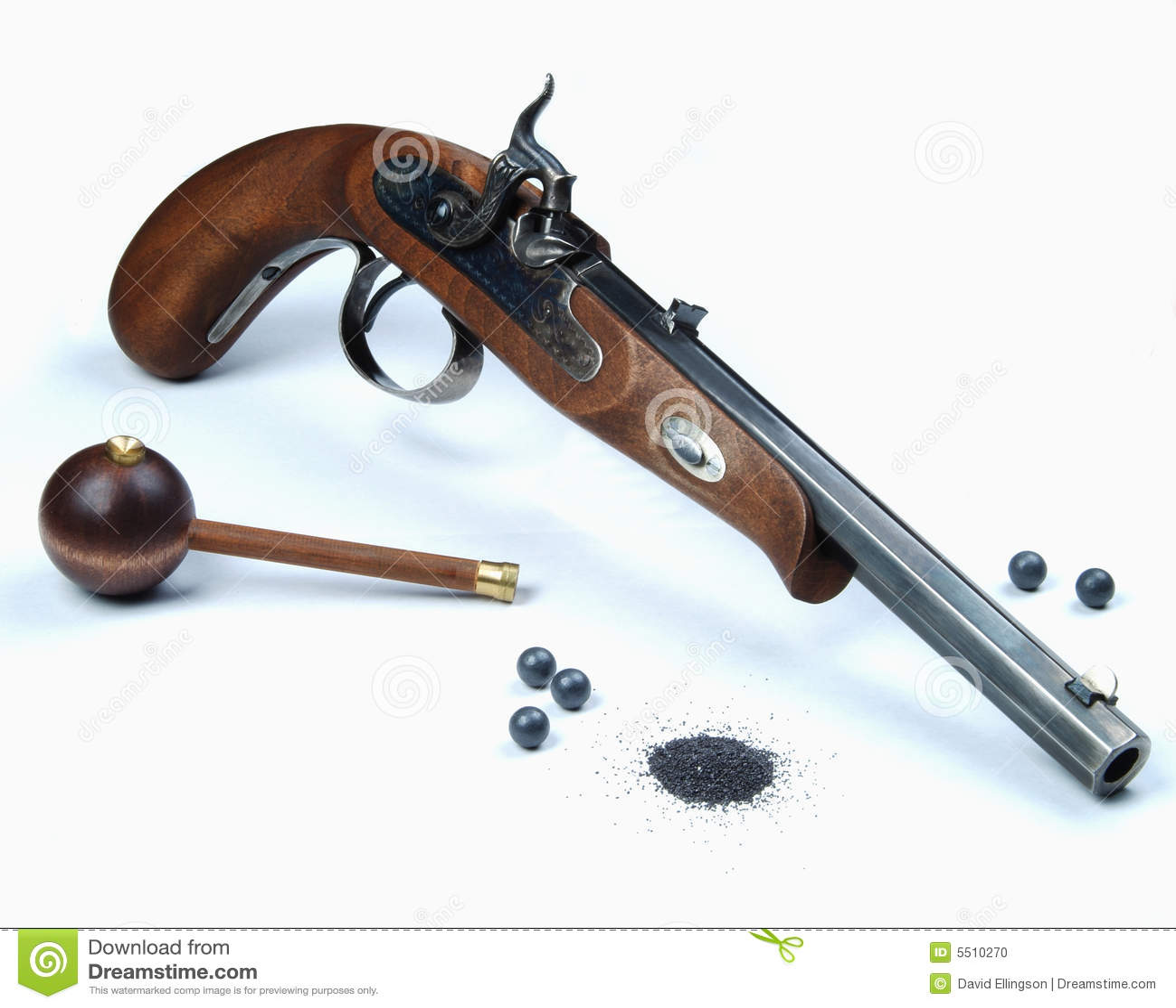 Svart pistolpulver