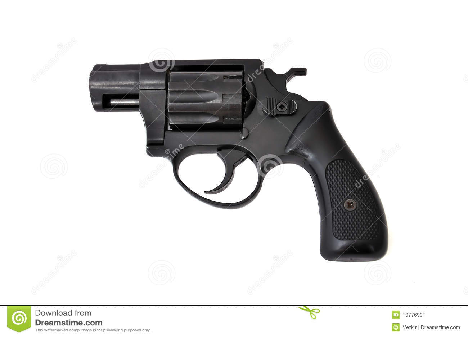Svart revolver