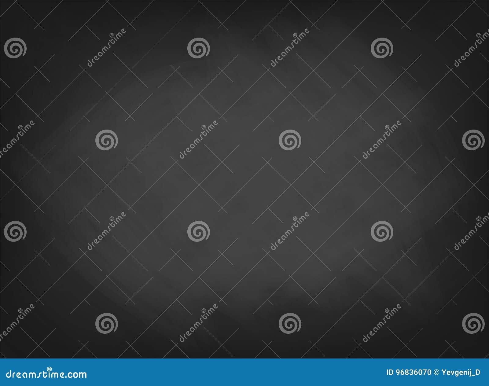 Svart svart tavlatextur Skolförvaltningbakgrund med spår av krita Kafé bageri, restaurangmenymall