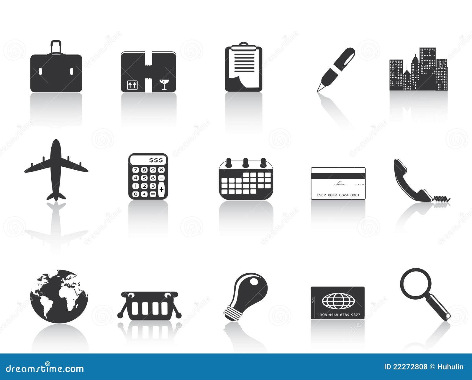 Svarta affärssymboler