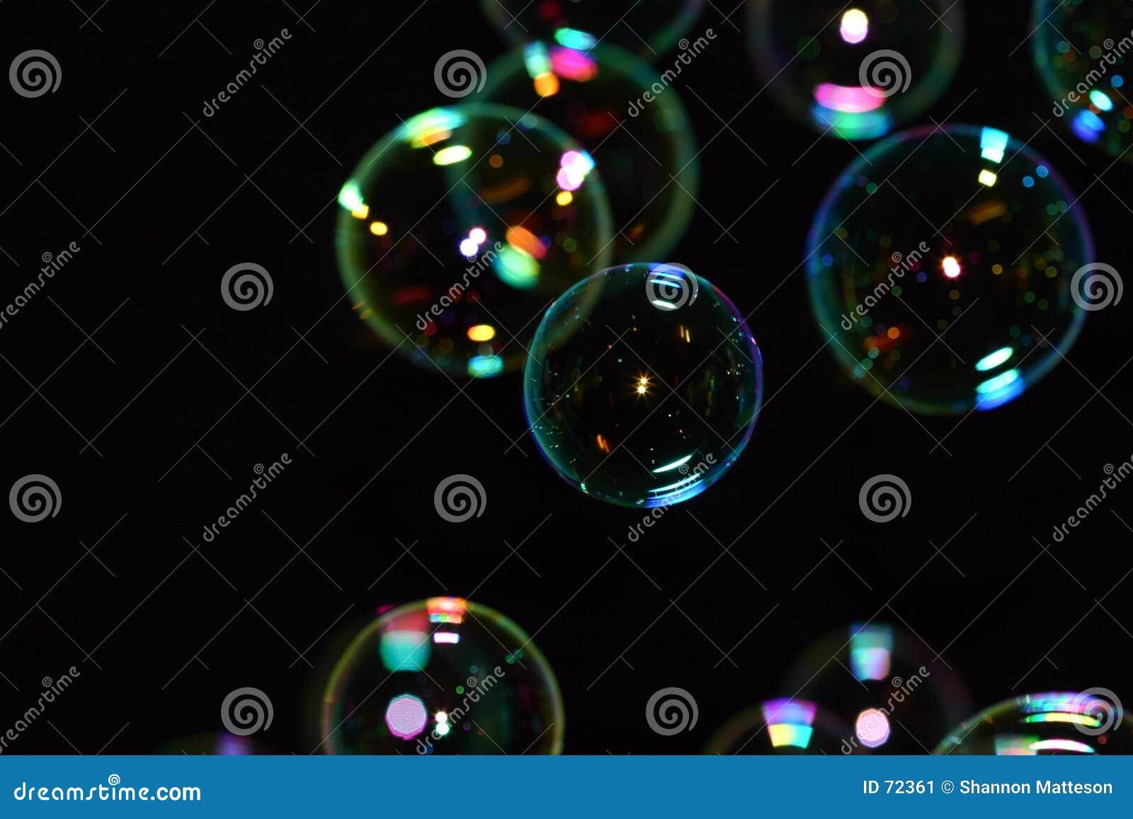 Svarta bubblor