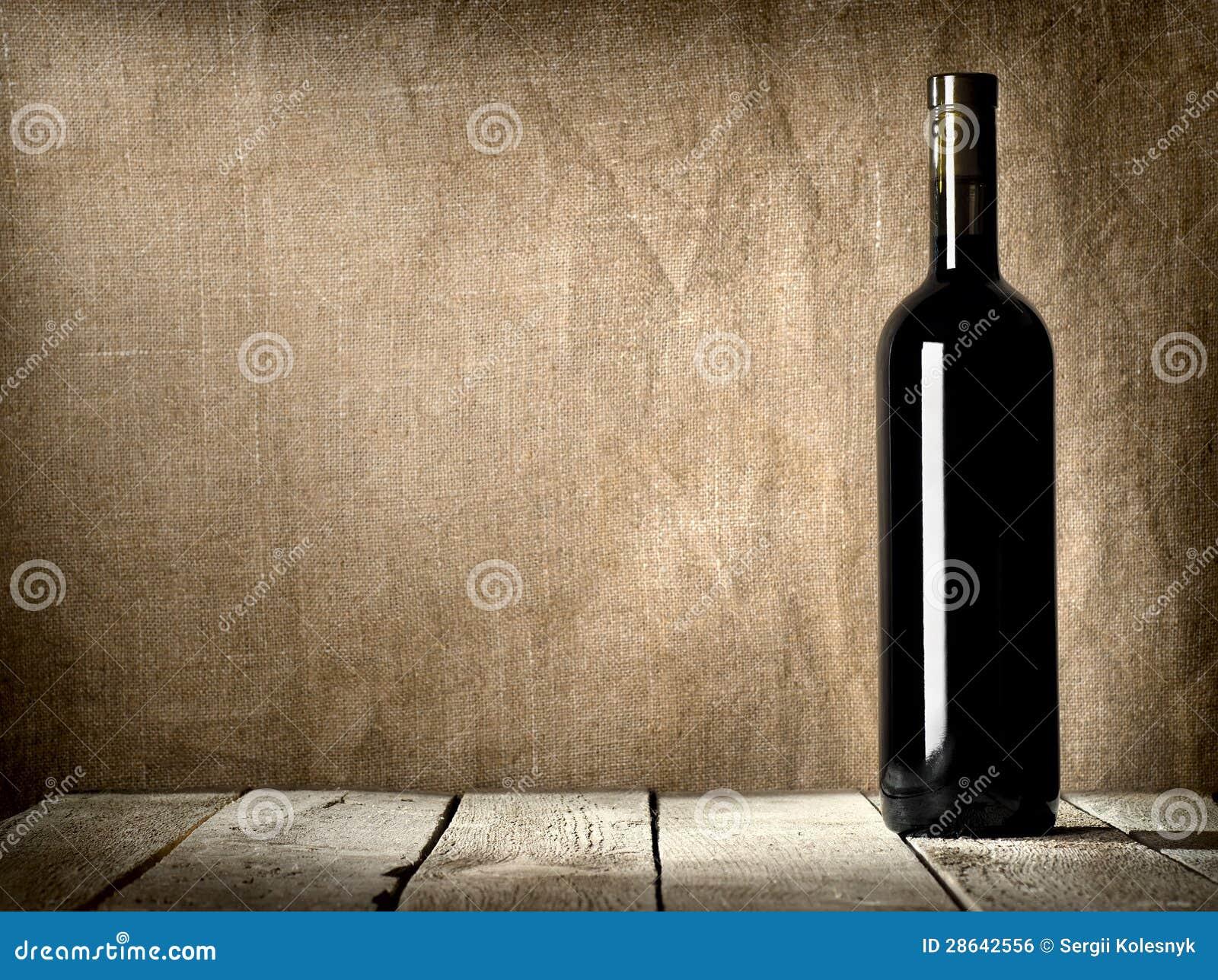 Svarten buteljerar av wine