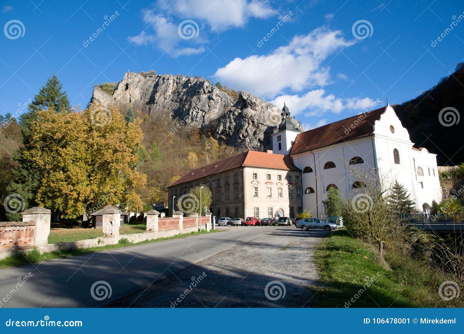 Svaty Jan pod Skalou, Central Bohemia, Czech republic