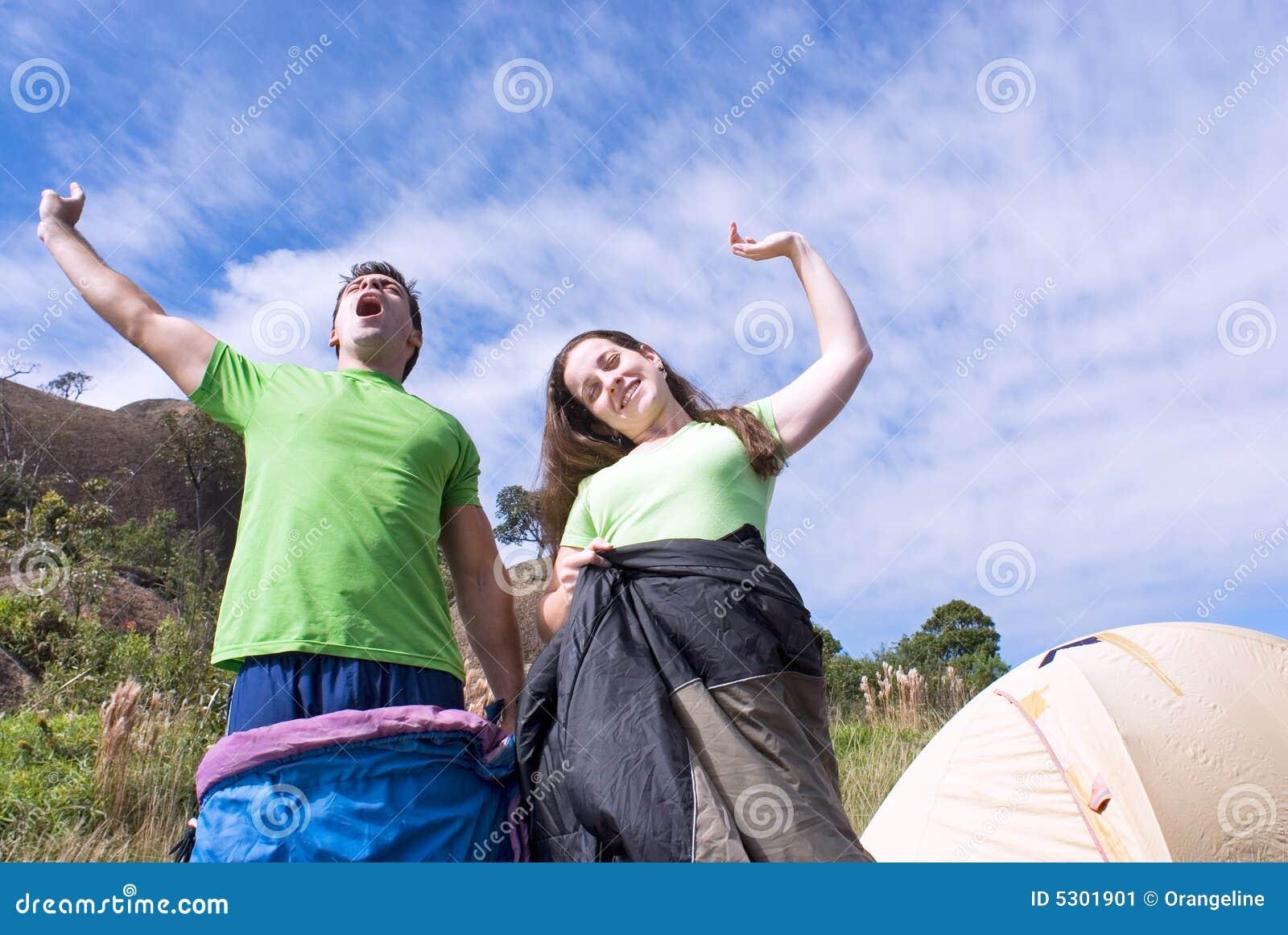 Download Svegliare All'aperto - Orizzontale Immagine Stock - Immagine di divertimento, aria: 5301901