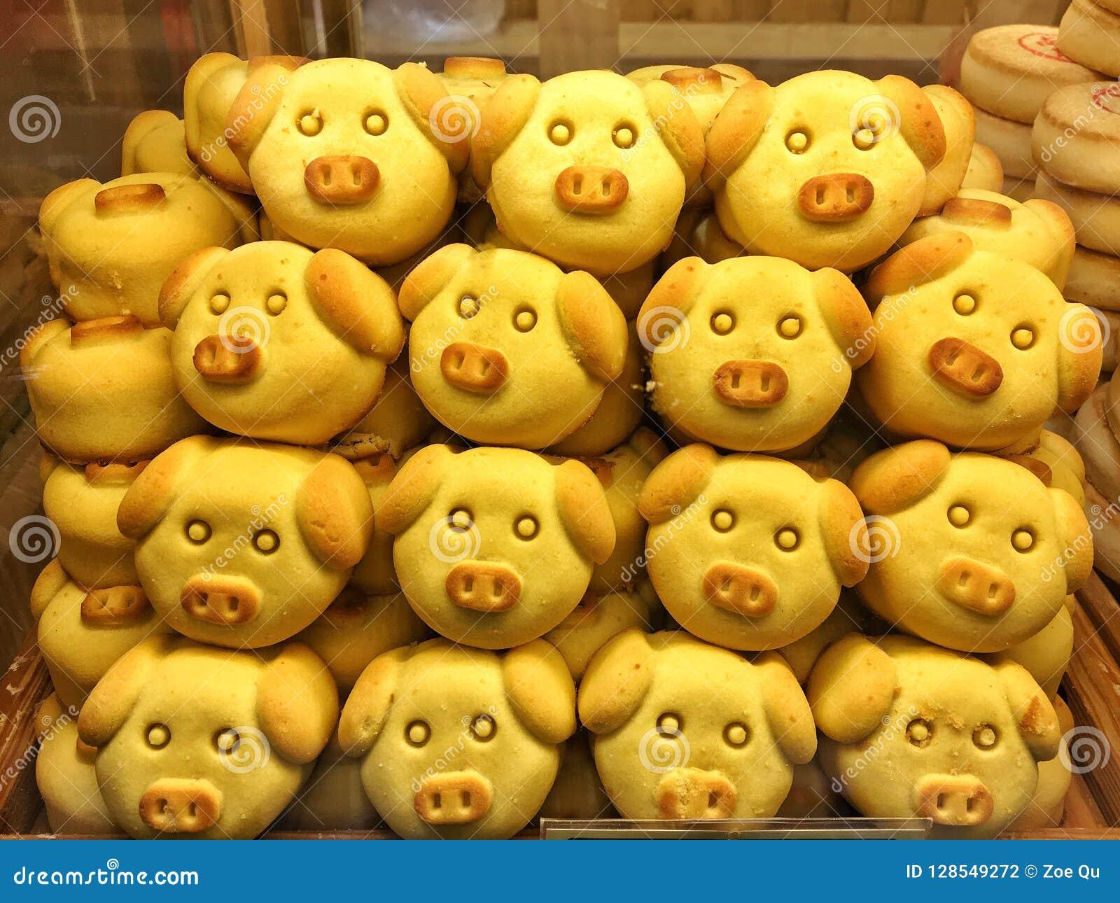 Svin-formad bakelse