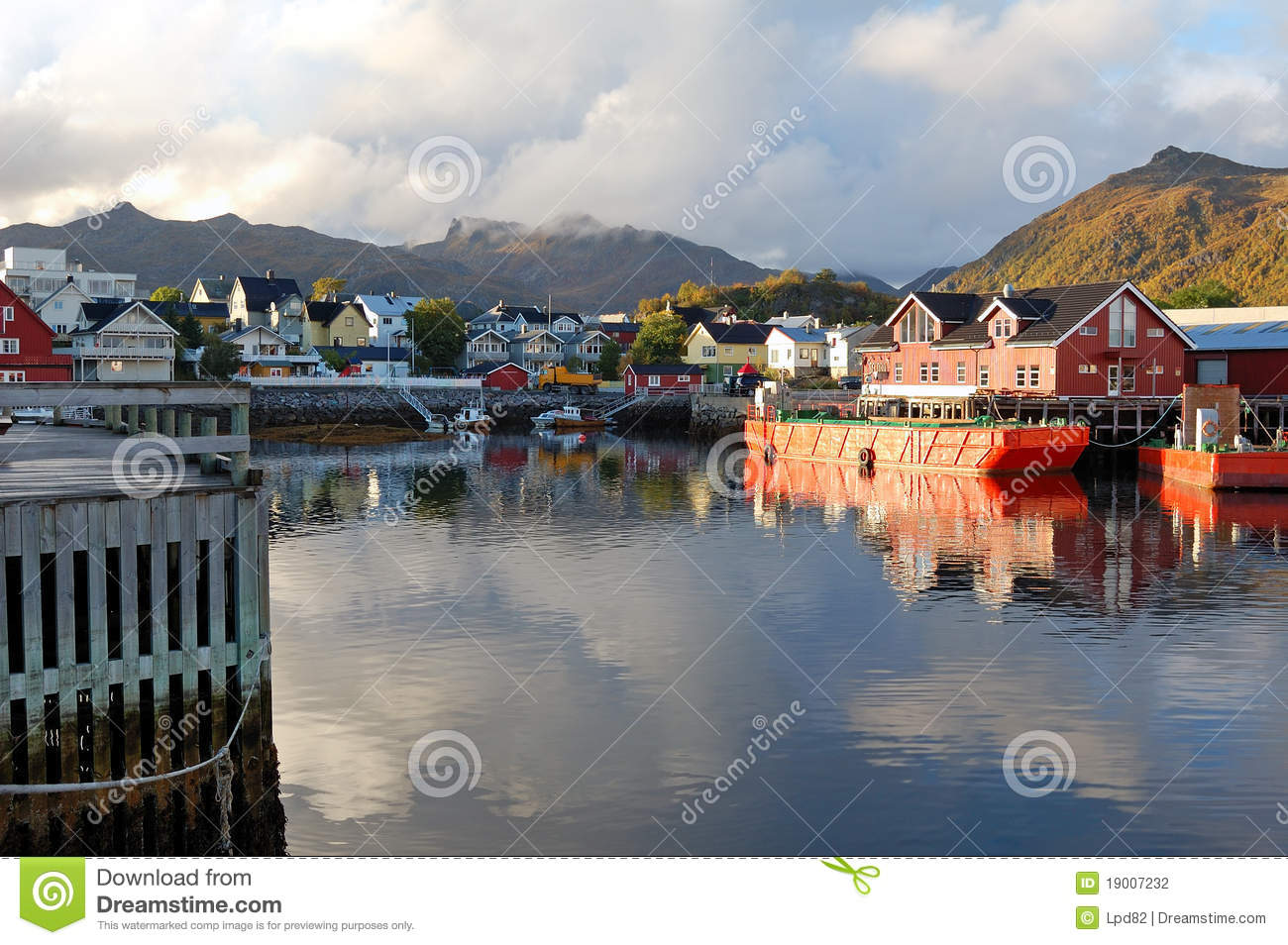 Svolvaer Norway  city photos gallery : Svolvaer Norway Stock Photography Image: 19007232