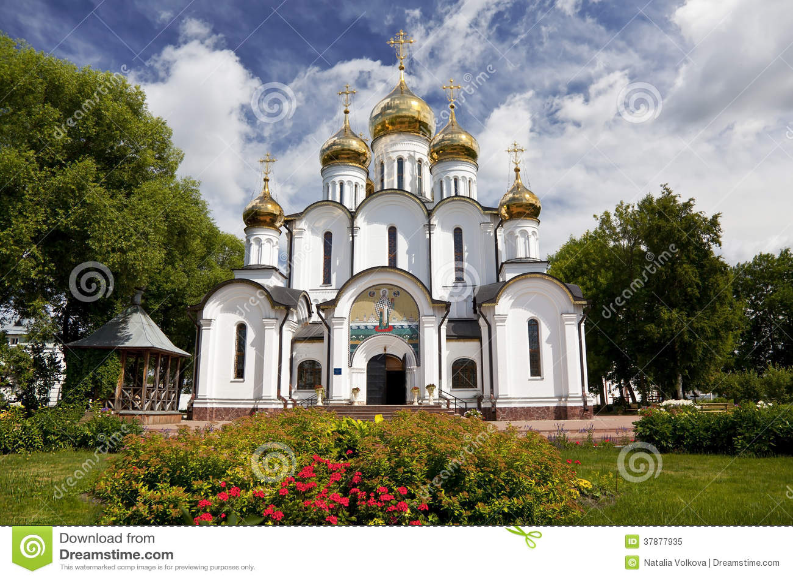 Svyato-Nikolskynonnenkloster. Pereslavl-Zalessky. Russland