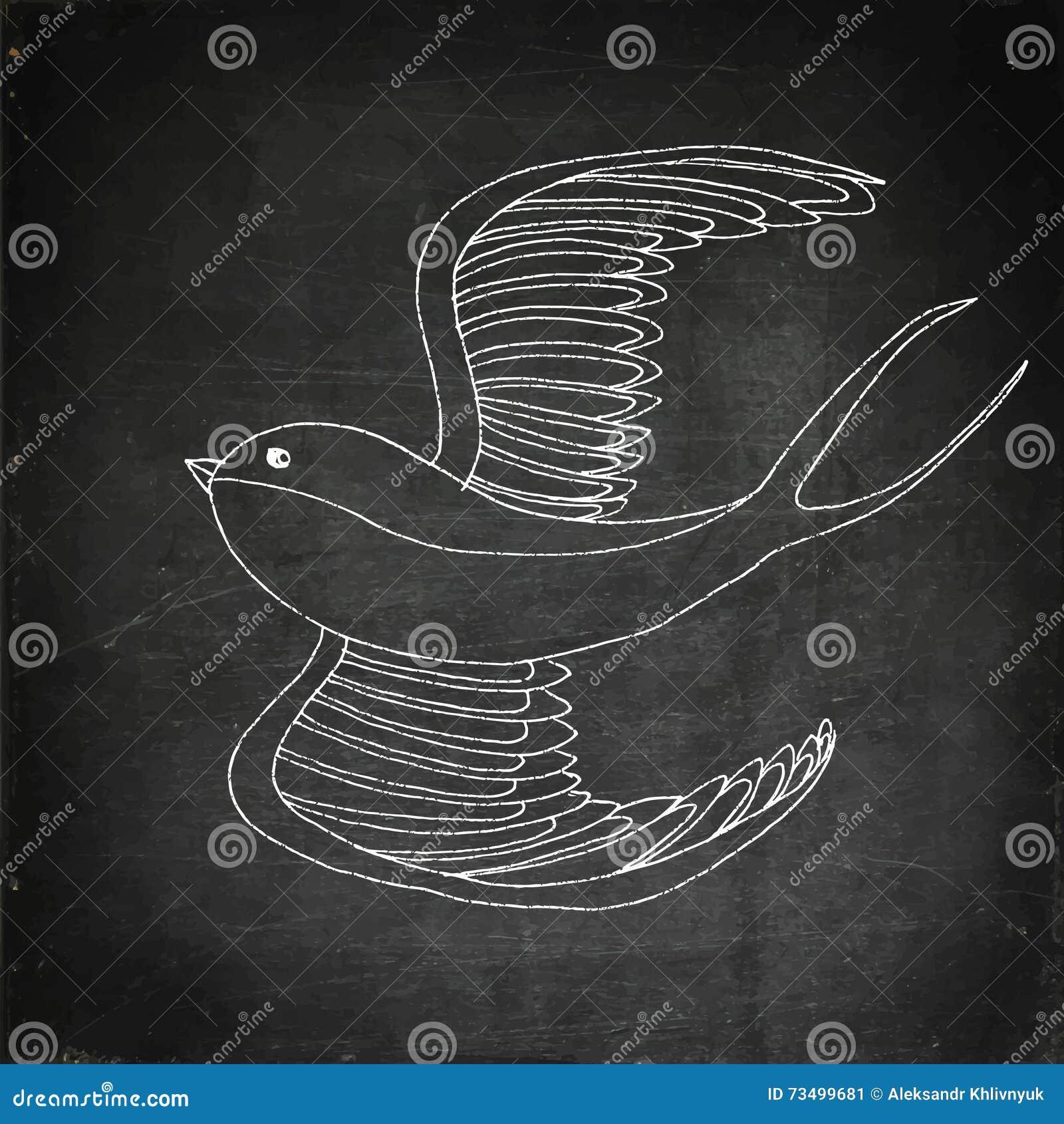 Sensational Swallow Bird Illustration Stock Illustration Illustration Theyellowbook Wood Chair Design Ideas Theyellowbookinfo