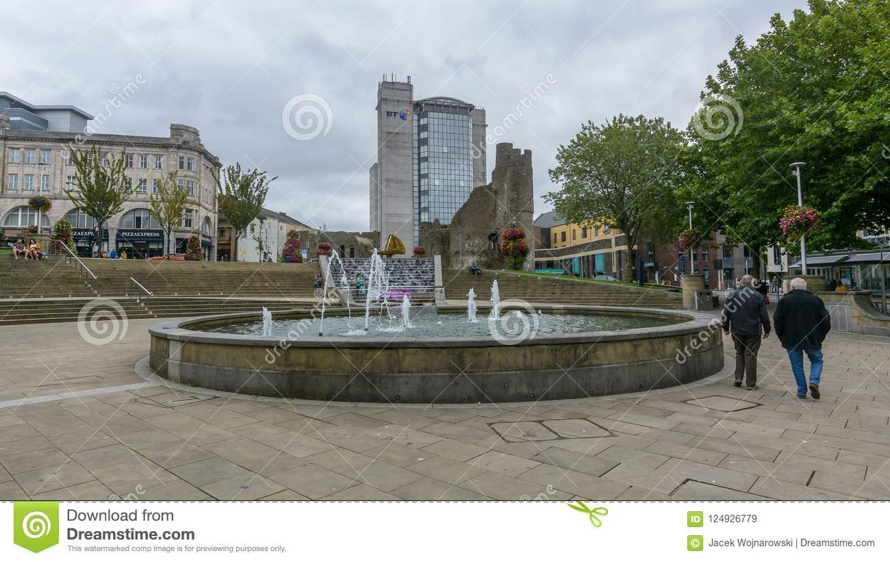 Castle Square City Life Editorial Stock Image Image Of