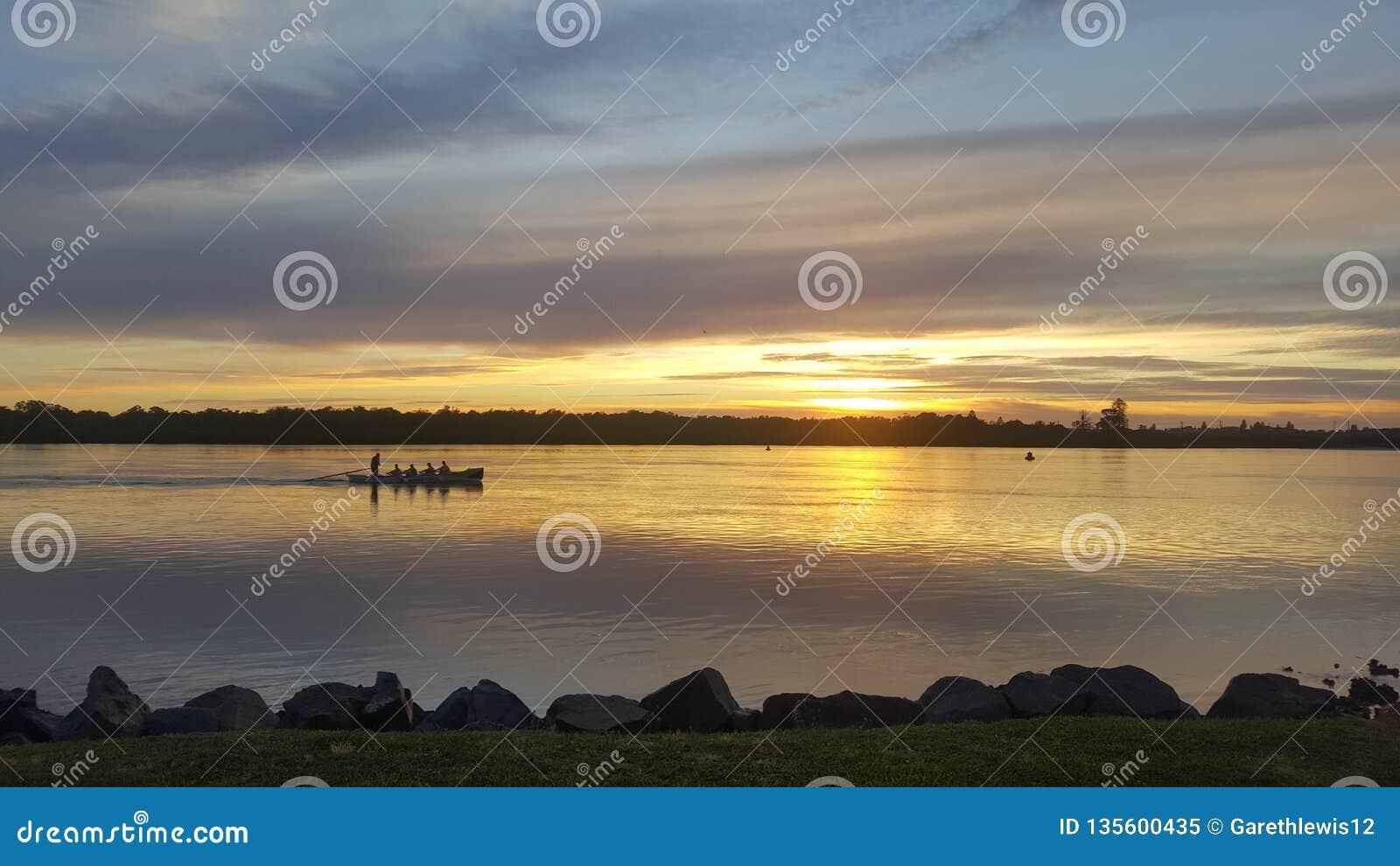 Swansea wschód słońca