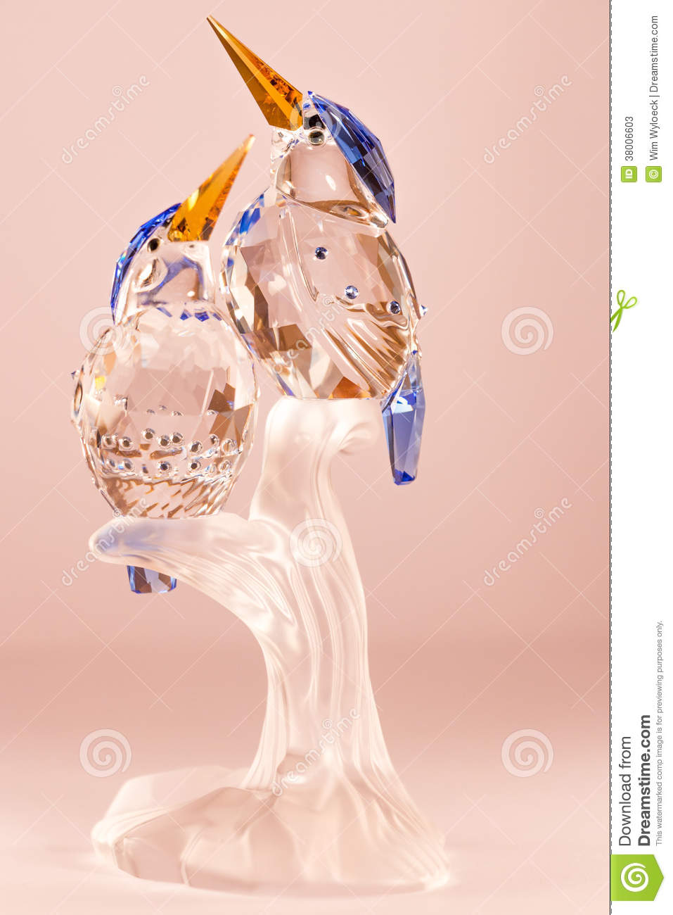 ... crystal couple of ...