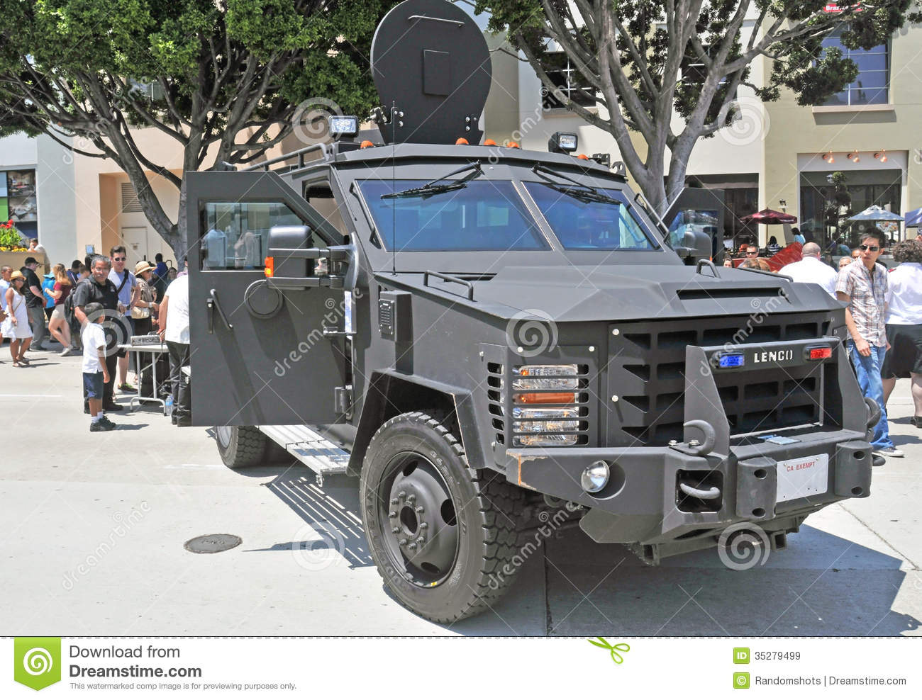 Swat Assault Vehicle Editorial Stock Image Image 35279499