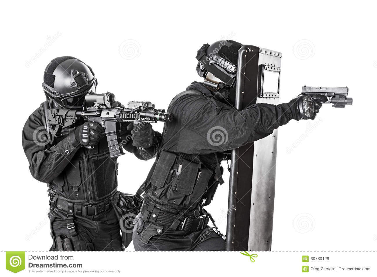 swat officers with ballistic shield stock photo image of counter