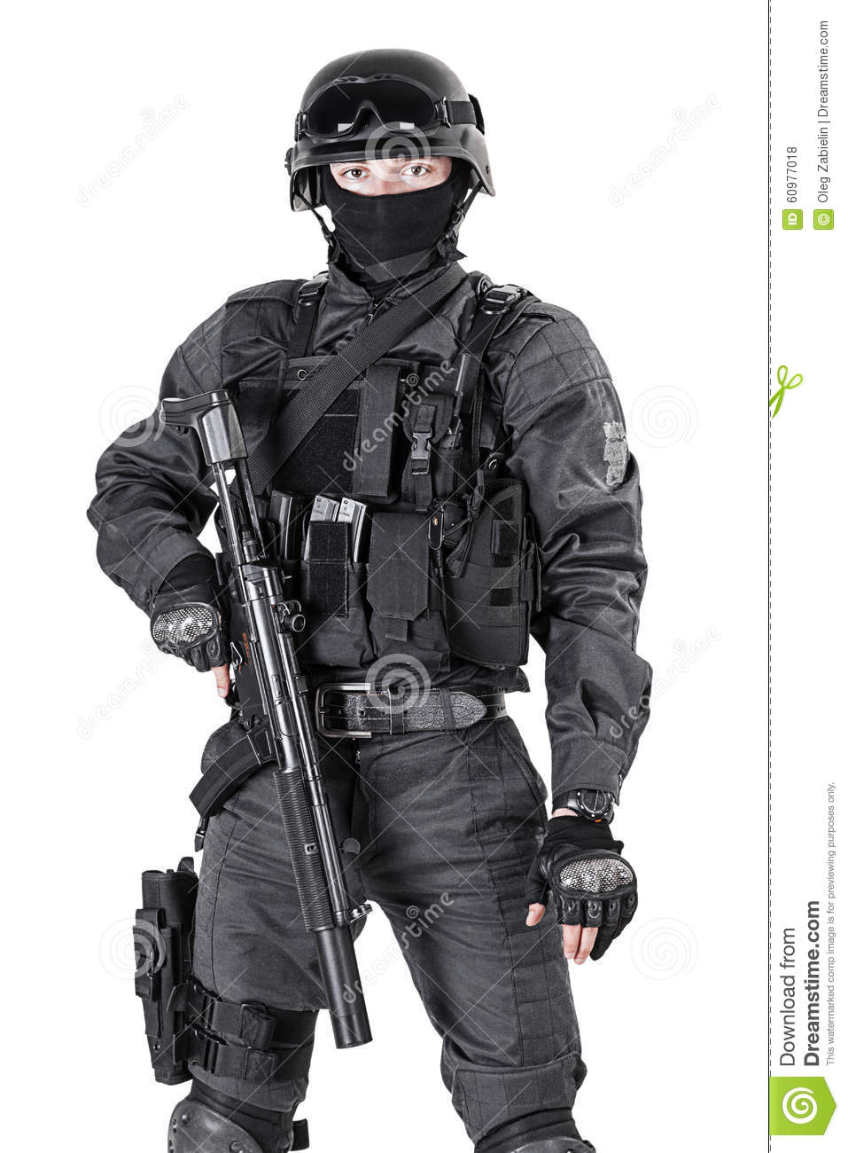 swat police officer stock photo image 60977018