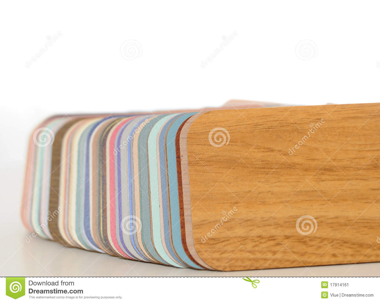 Swatch Of Plastic Formica Counter Stock Image Image