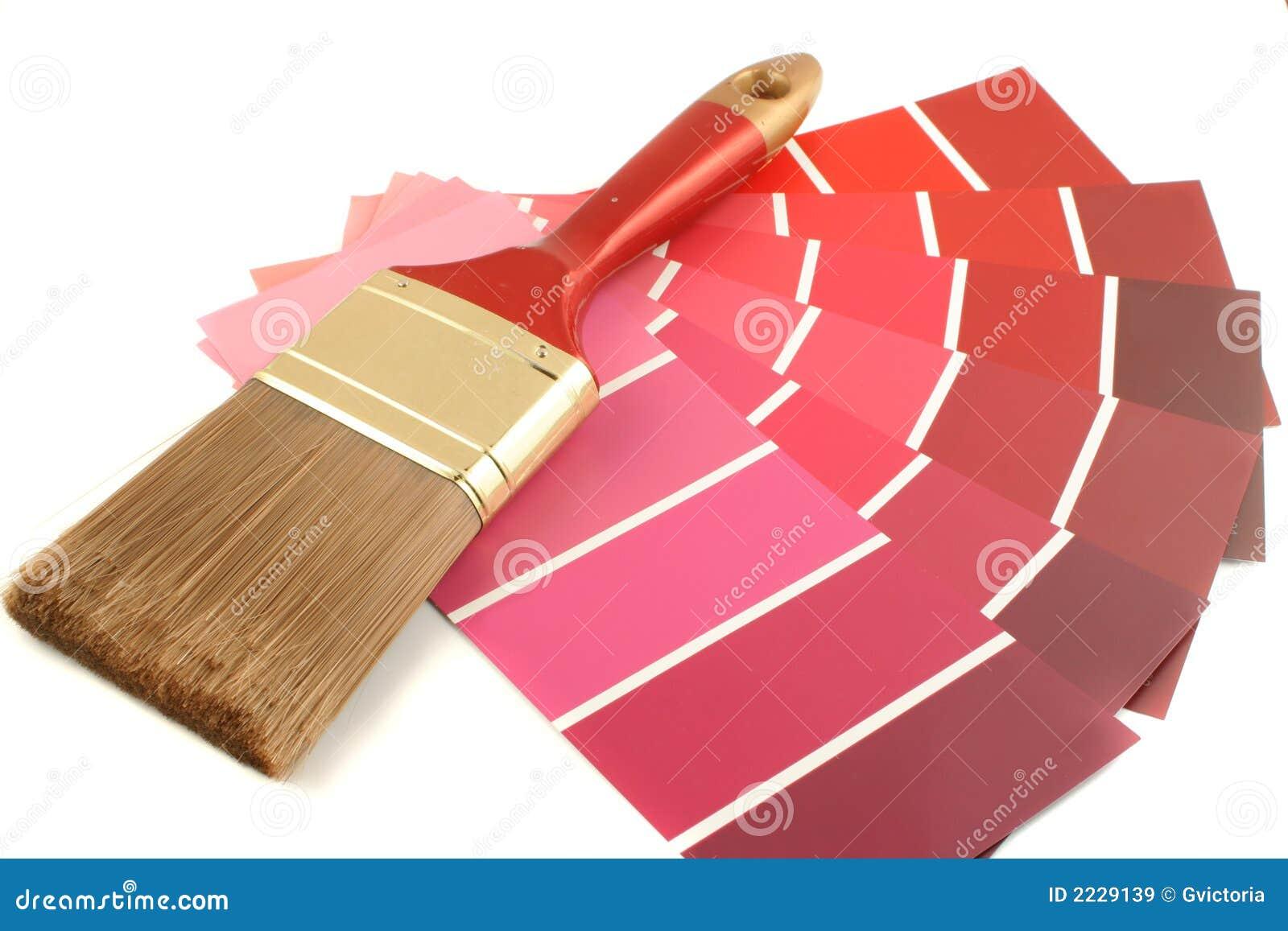 Download Swatches χρωμάτων στοκ εικόνα. εικόνα από πινέλα, ζωγραφική - 2229139