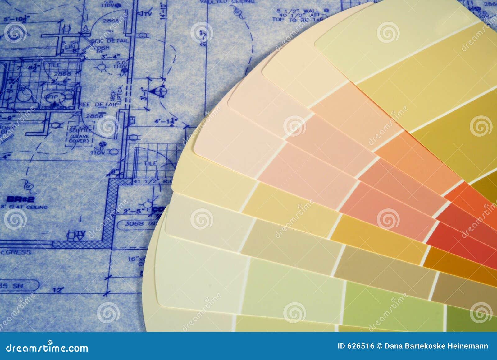 Download Swatches краски светокопий стоковое фото. изображение насчитывающей добавляют - 626516