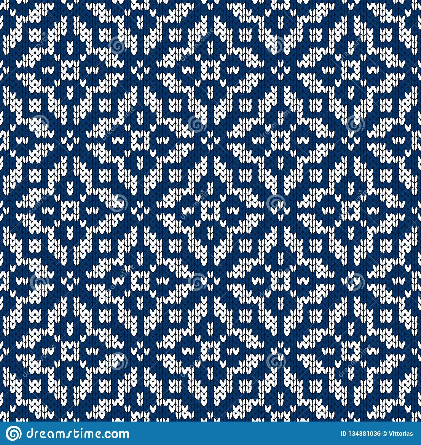 a9aa6cb94fb6 Winter sweater fairisle design. Seamless christmas and new year wool knitting  pattern. Vector illustration with snowflakes. Holiday traditional background