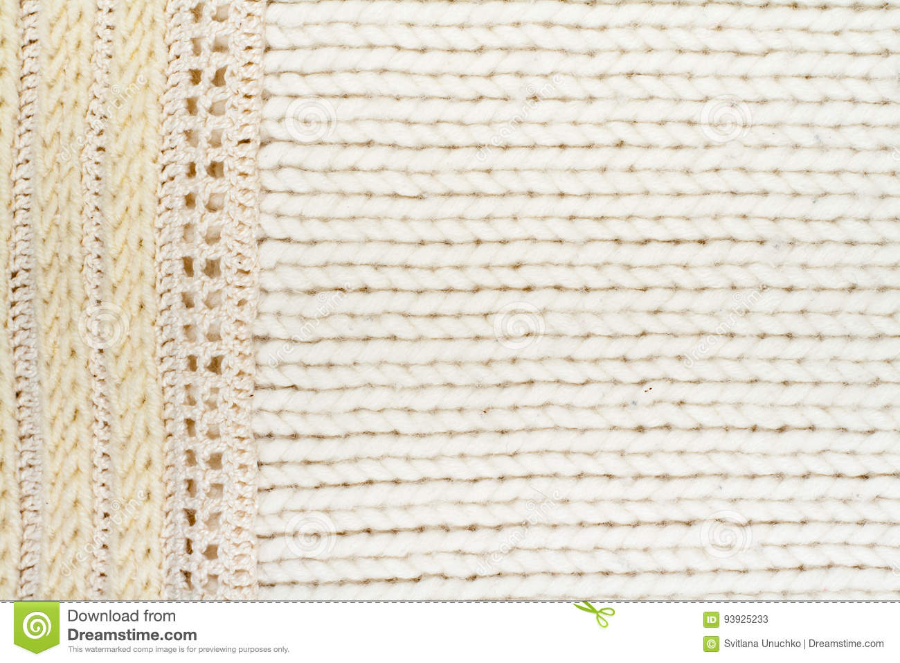 9061dc05c29b6 Sweater or scarf fabric texture large knitting. Knitted jersey background  with a relief pattern. Braids in knitting . Wool hand- machine