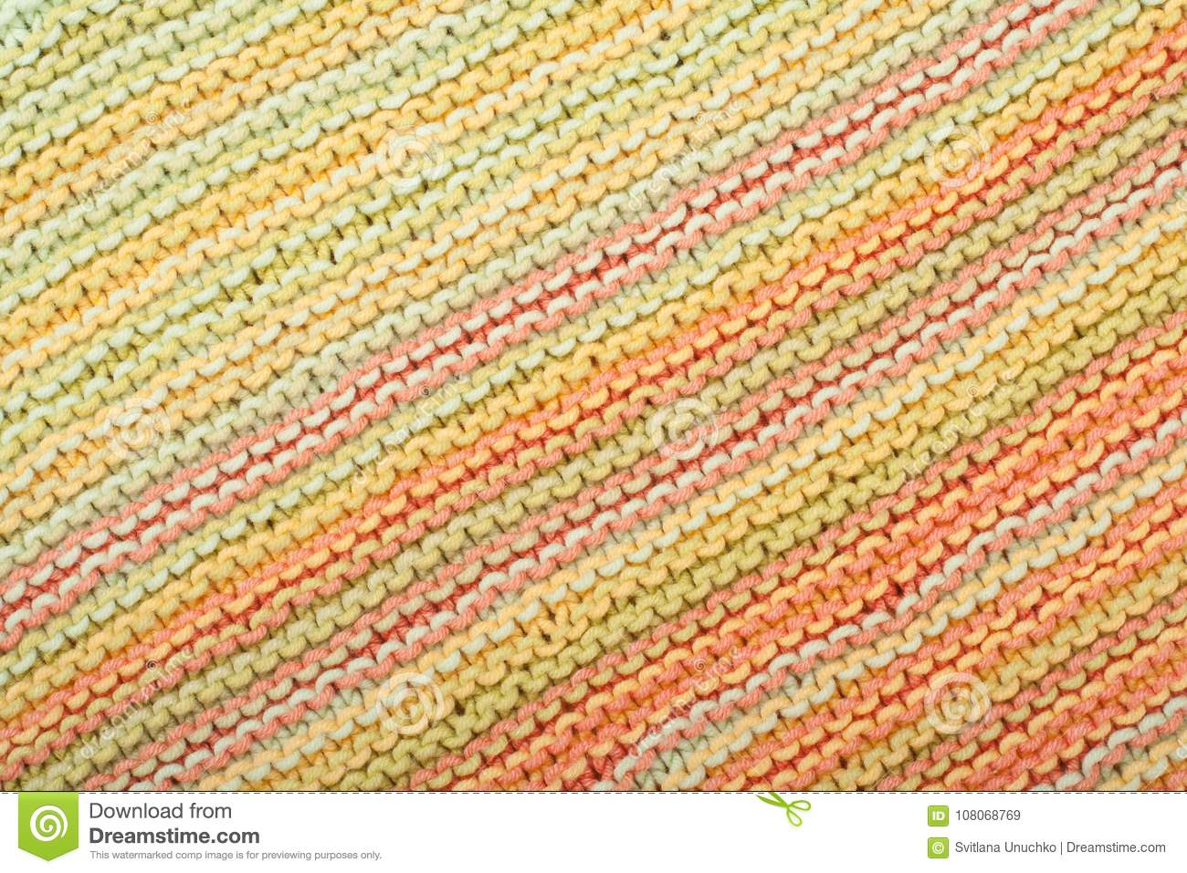 Sweater Or Scarf Fabric Texture Large Knitting. Knitted Jersey ...
