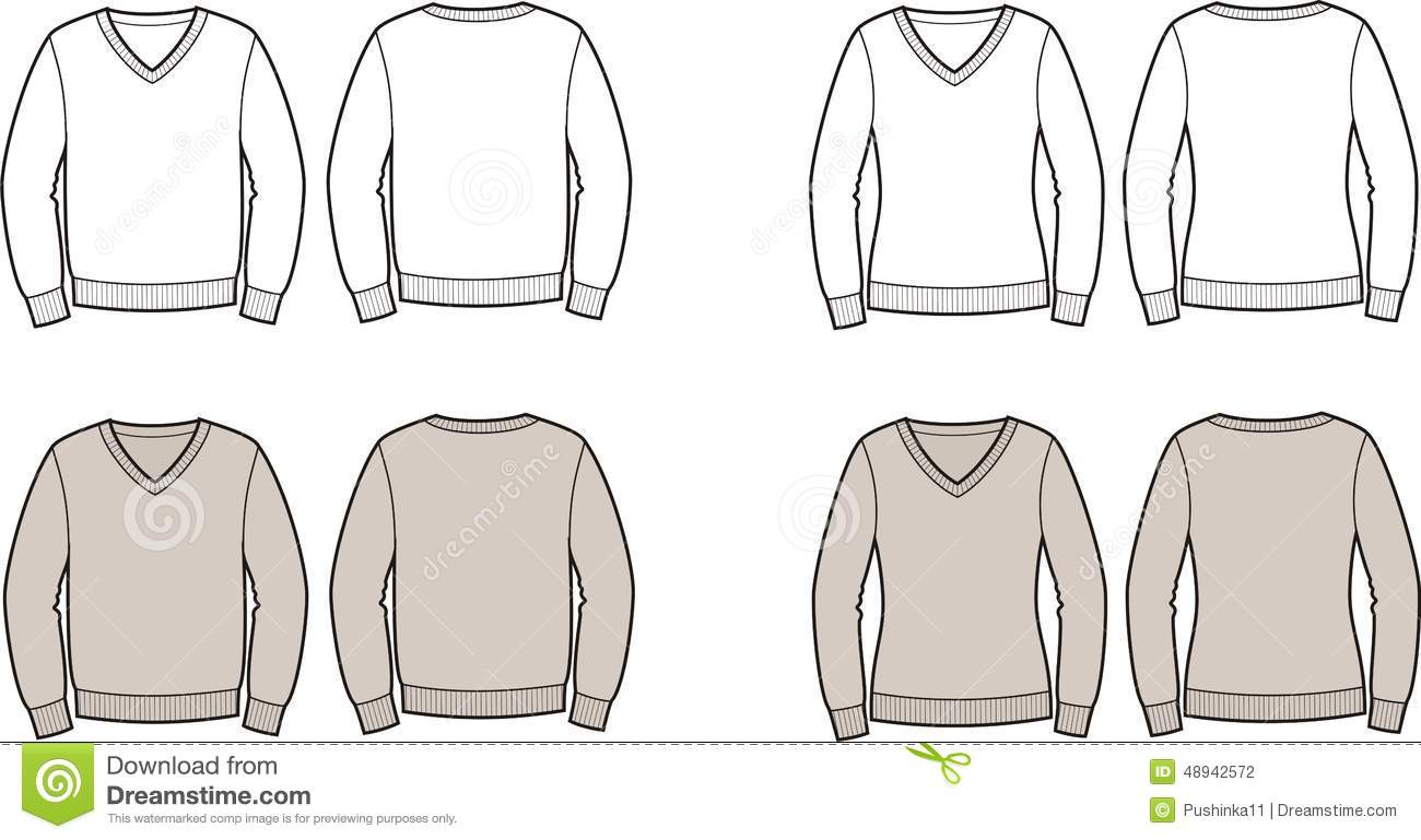 Sweater stock vector. Illustration of clothes, jumper , 48942572
