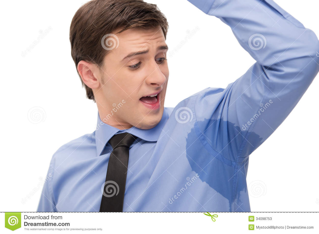 Sweaty Armpit Stock Photos - Image: 34098753