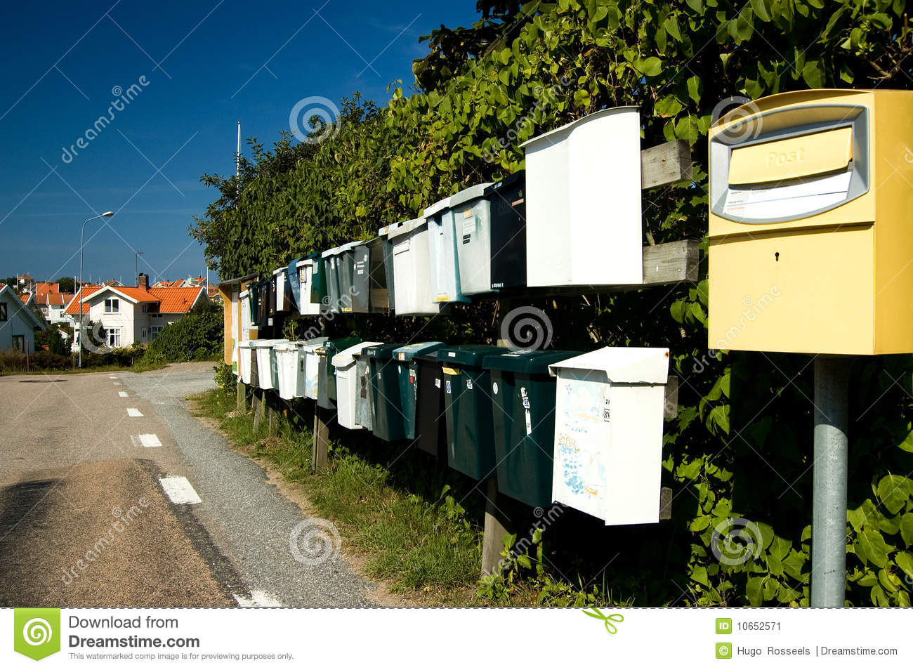Sweden Mail boxes