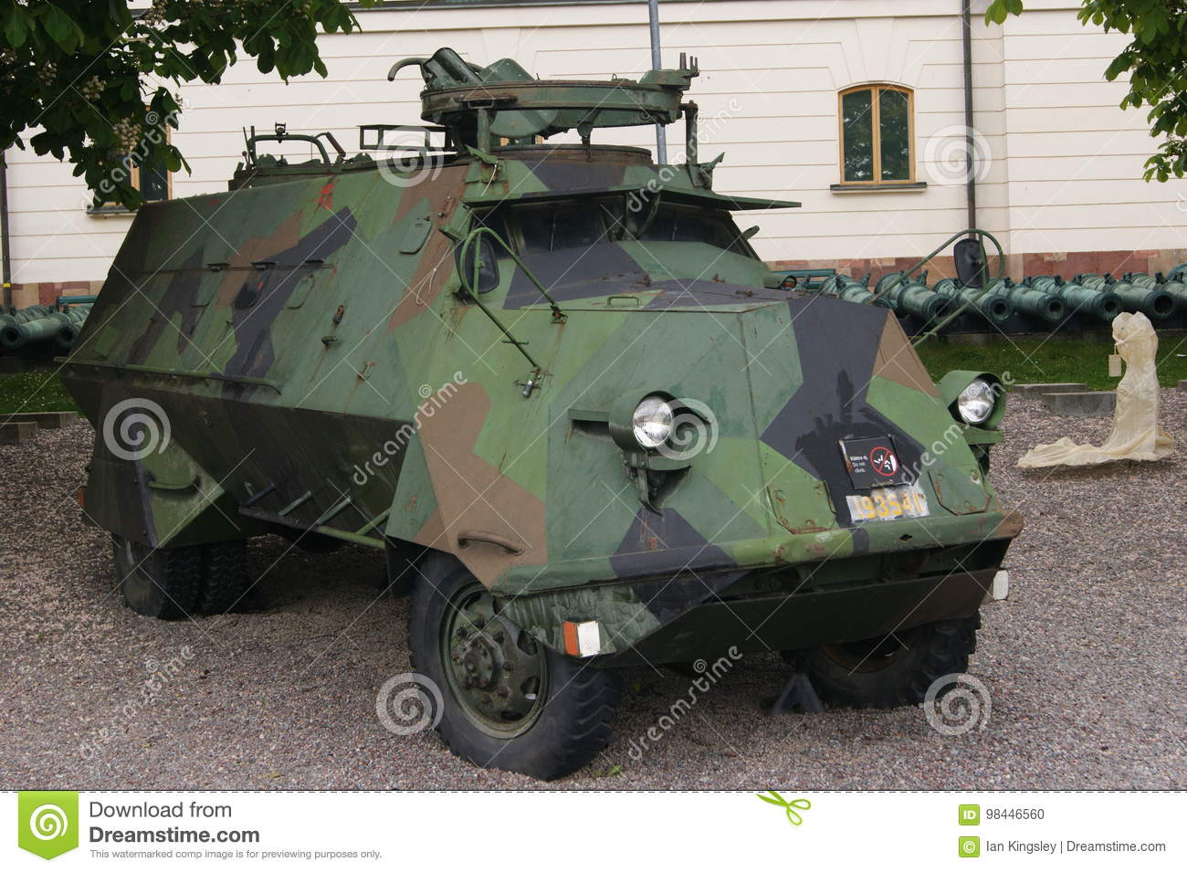 Swedish Armoured Personnel Carrier