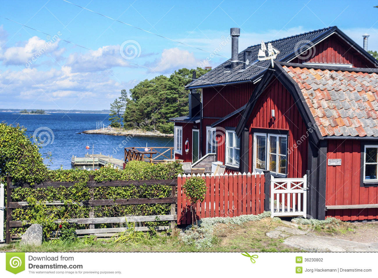 Swedish Countryside Near Editorial Photography Image Of