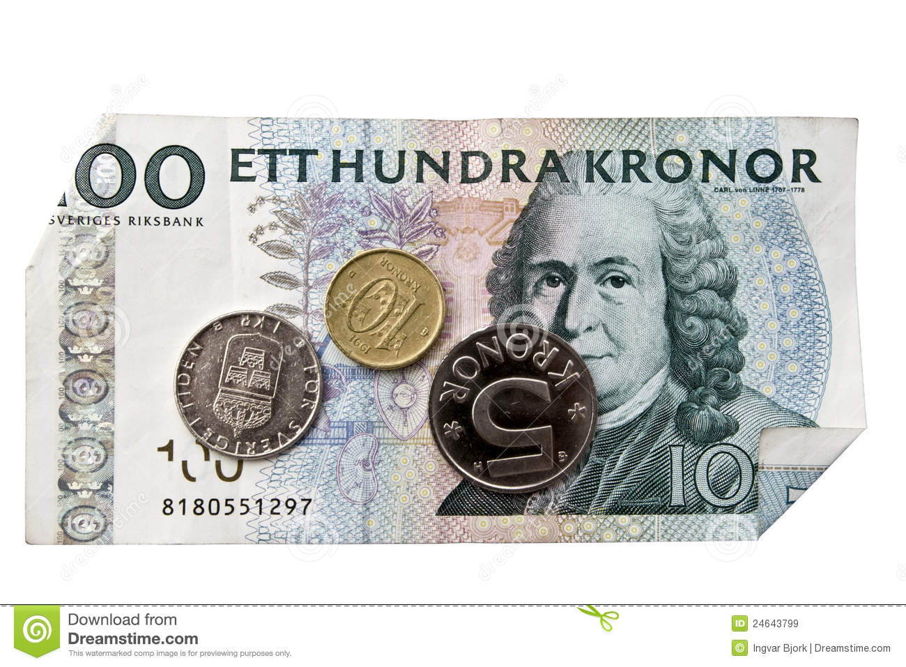 Swedish Currency Royalty Free Stock Images - Image: 24643799