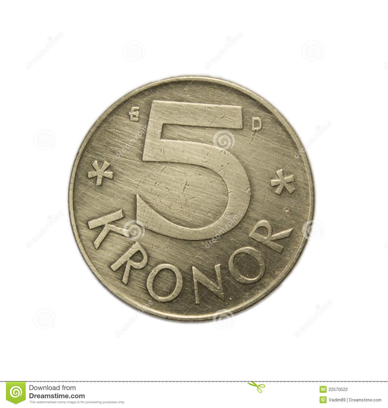 Swedish Kronor Stock Photography - Image: 22570522