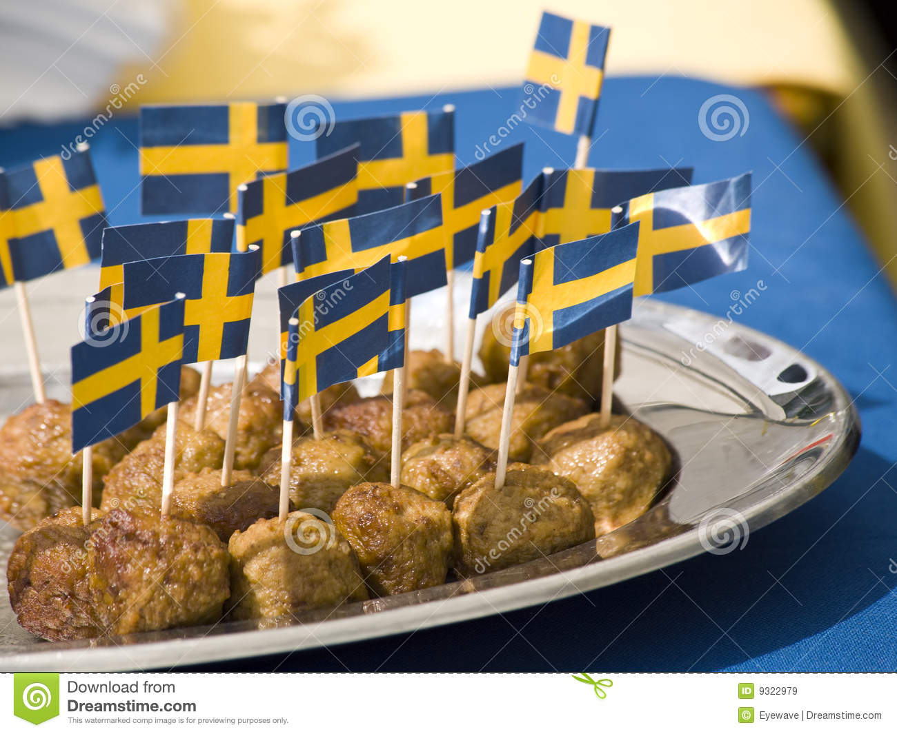 Swedish Meatballs Royalty Free Stock Images - Image: 9322979