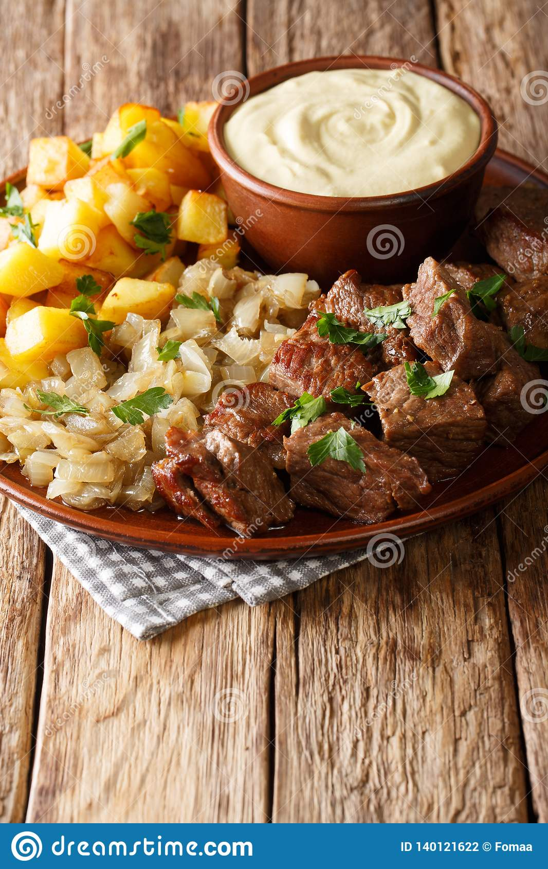 Swedish Recipe Pyttipanna for Beef Rydberg with Stewed Onions and ...