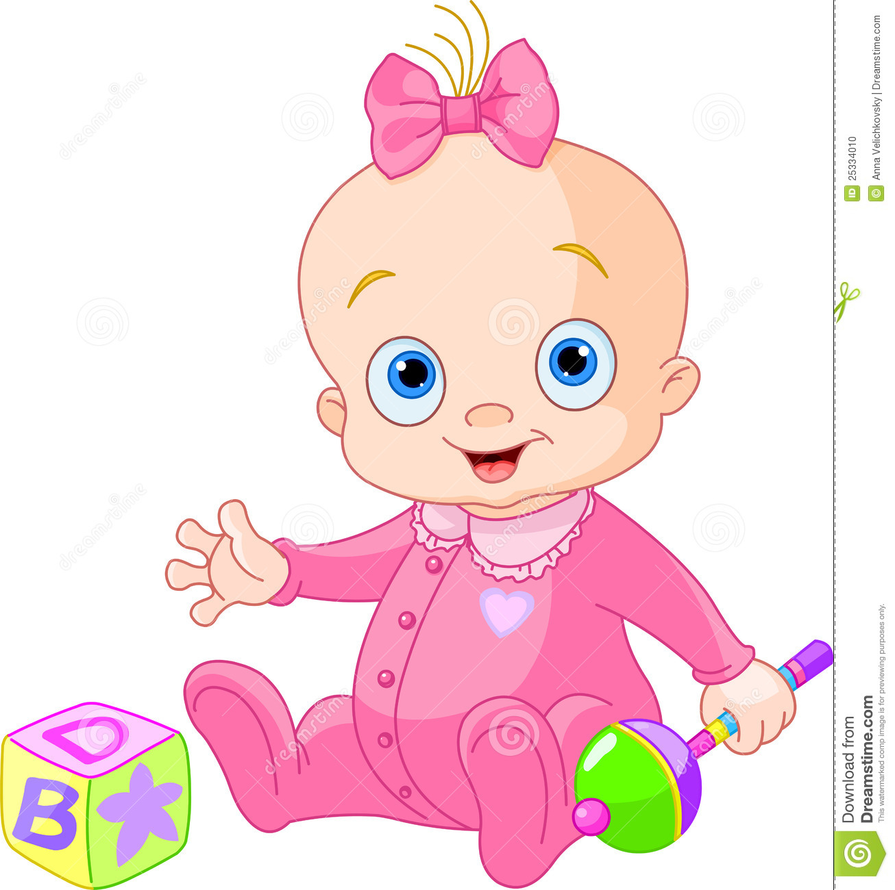 Cartoon baby girl playing upside down stock vector illustration of sweet baby girl stock photo voltagebd Image collections